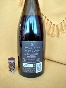 Angel's Share Syrah 2018 - Midalidare Estate label back