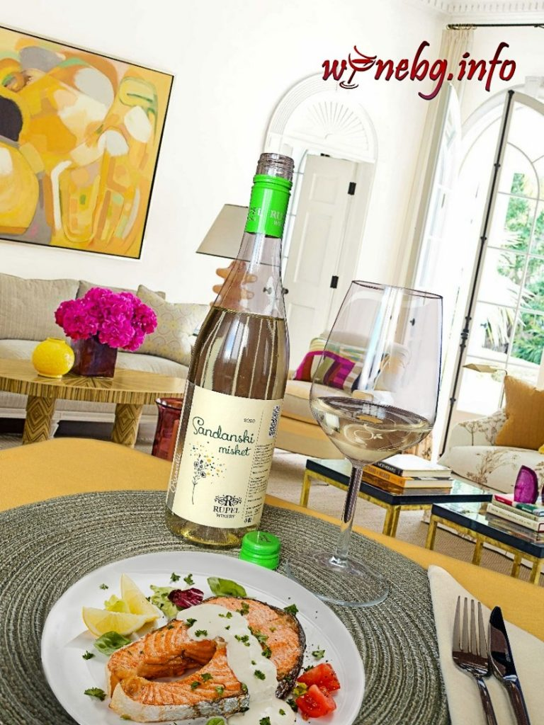Sandanski misket 2020 - Rupel Winery