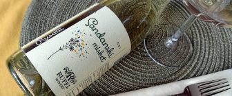 Sandanski misket 2020 – Rupel Winery