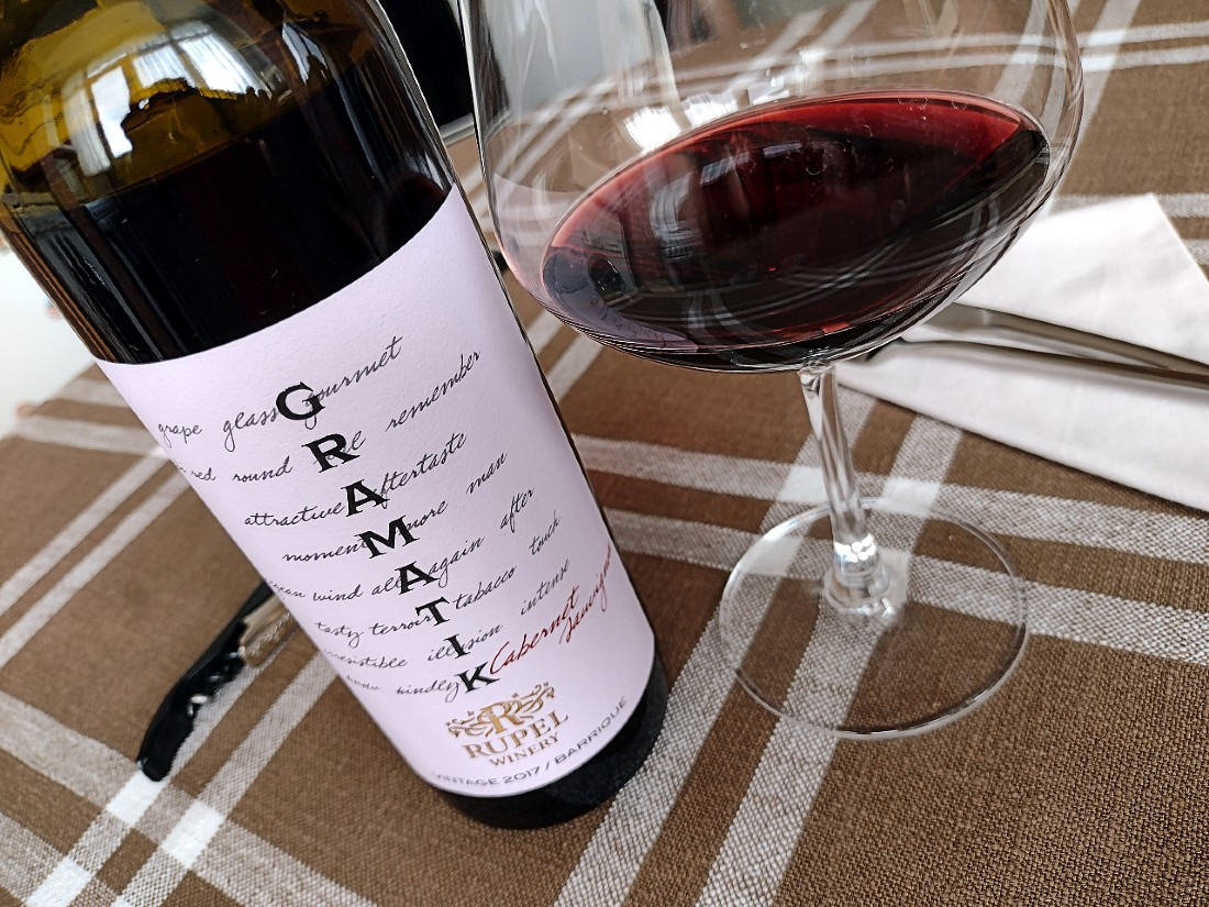 GRAMATIK Cabernet Sauvignon 2017 – Rupel Winery