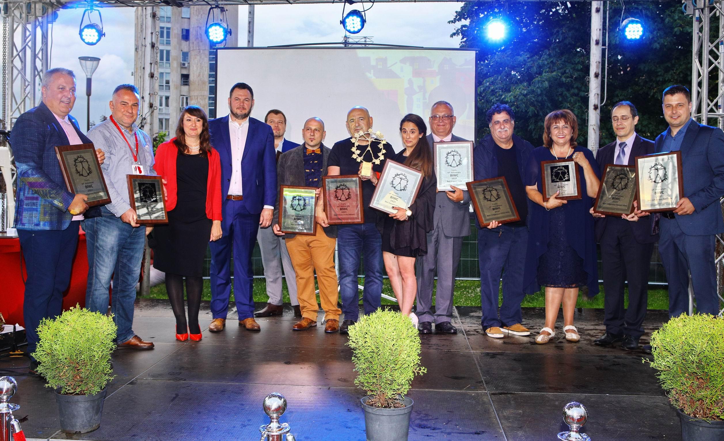 Гръцкото Vinsanto Late Release 2001 спечели Гранд Трофея за най-добро вино на Балканите
