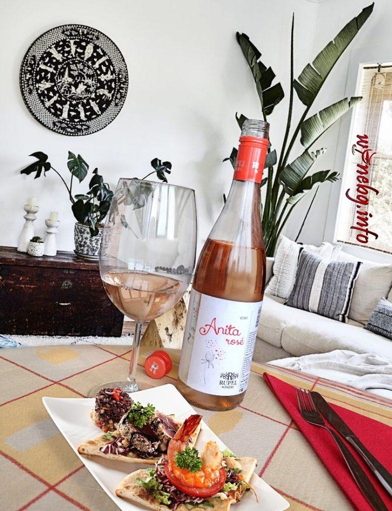 Rose Anita 2020 - Rupel Winery