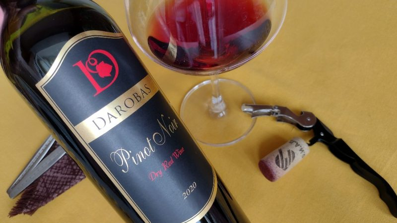 Pinot Noir 2020 – Darobas Winery