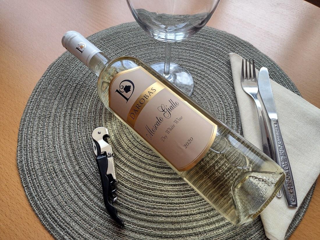 Moscato Giallo 2020 – Darobas Winery