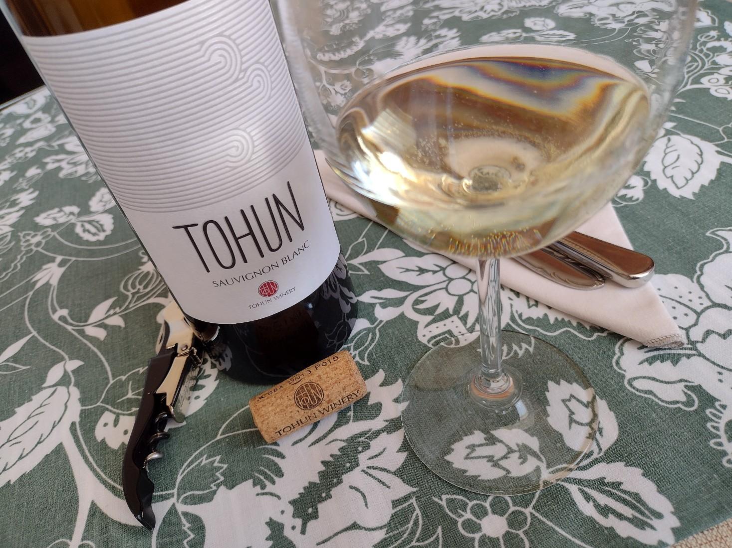 Tohin Sauvignon Blanc 2020 – Tohun Winery