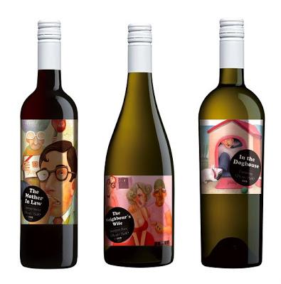 G&B Wine packaging